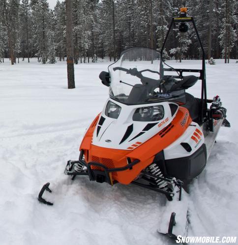 2015 Arctic Cat Bearcat 5000 XT GS Profile