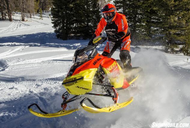 2015 Ski-Doo Renegade XRS 800 ETEC Action Front