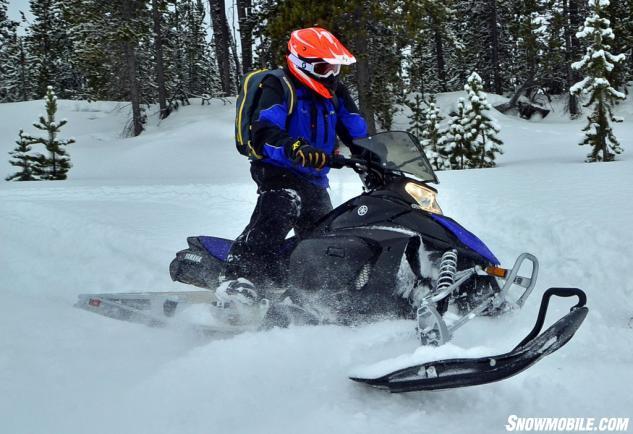 2015 Yamaha Phazer M-TX Off Trail