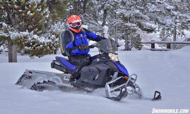 2015 Yamaha Phazer M-TX Trail Riding
