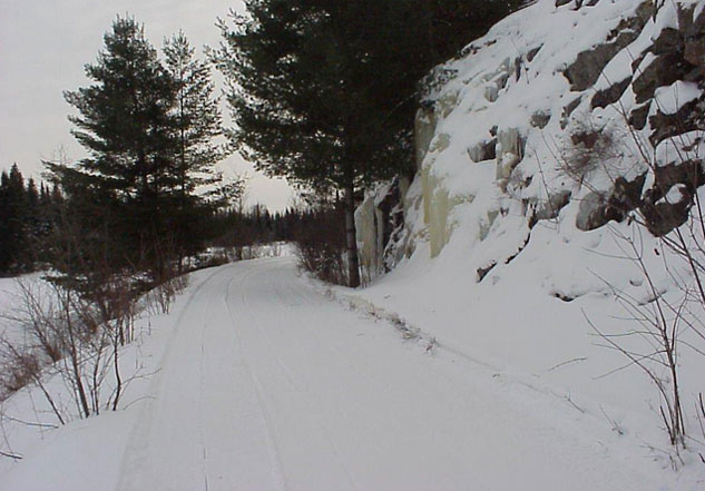 Haliburton Snowmobile Trails