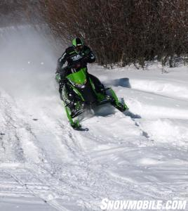 Cat's RR can handle big-air landings as easily as the race sled on which it's based.