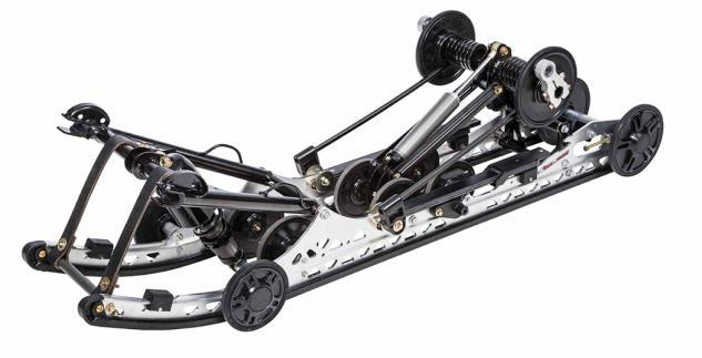 "Arctic Cat pioneered the slide rail rear suspension, creating a torsion linked ride for the 1976 Pantera and continuing it to the ""slide action"" version found on the 2015 Pantera."