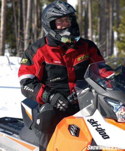 2015 Ski-Doo Renegade Sport 600 ACE Windshield Venting