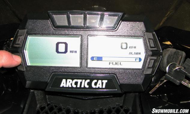 2015 Arctic Cat ZR 7000 RR Digital Gauge