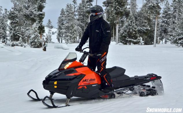 2015 Ski-Doo Tundra Xtreme Action Standing