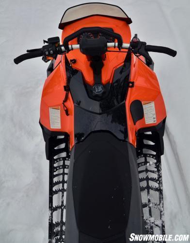 2015 Ski-Doo Tundra Xtreme Cockpit