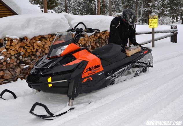 2015 Ski-Doo Tundra Xtreme Working