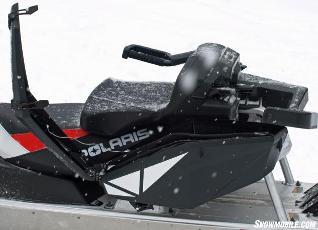 2015 Polaris 550 Indy Adventure 144 Convertible Seats