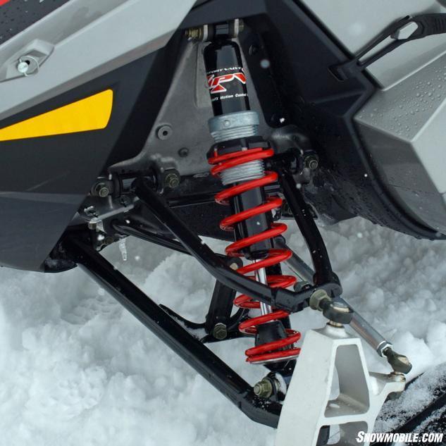 2015 Polaris 550 Indy Adventure 144 ProRide MPV Shocks