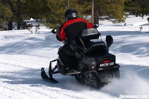 2015 Arctic Cat Pantera 7000 LTD Action Rear