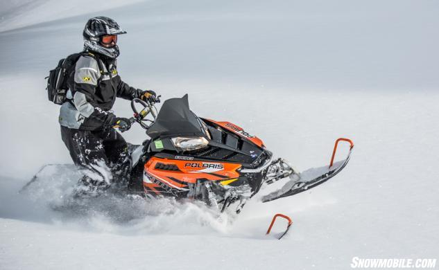 2015 Polaris 800 Pro-RMK Action Deep Powder
