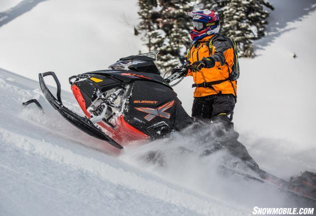 2015 Ski-Doo 800 Summit X T3 Action Power