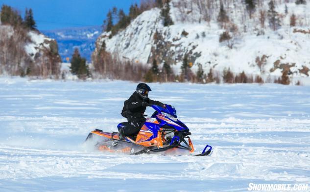 Yamaha Viper Algoma Snowmobile Trails