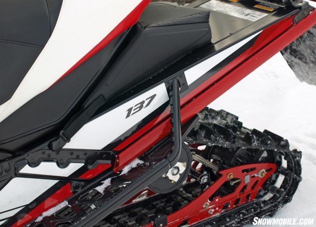 2016 Yamaha Viper L-TX LE Turbo Rear Suspension