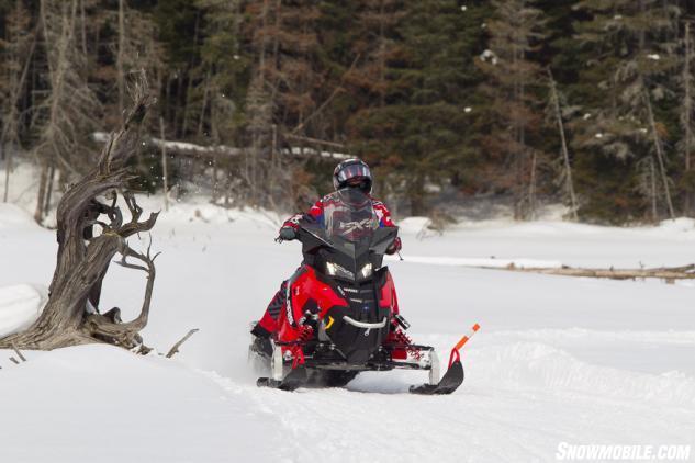 Sceninc Ontario Snowmobile Trails