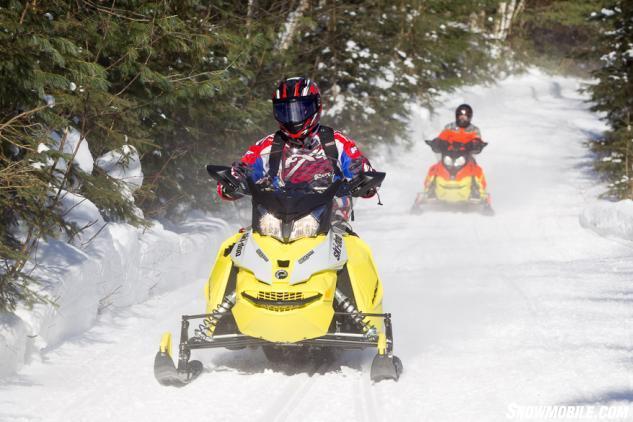 Ski-Doo MXZ 900 ACE Trail Riding