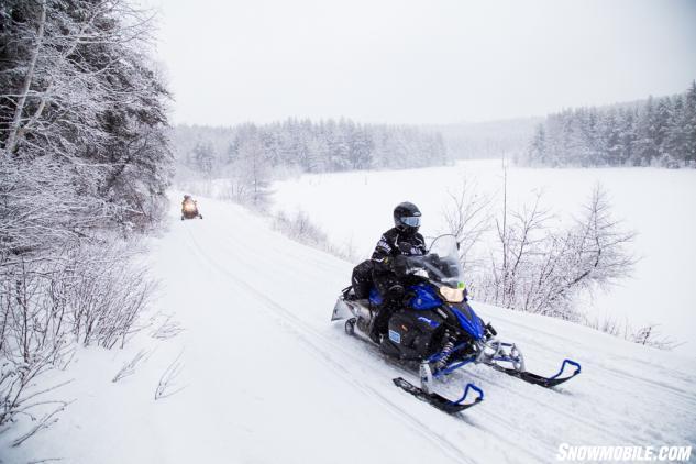 Algoma D Trail Snowmobiling