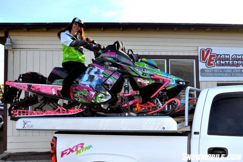 Oregon Ladies Ride Pink Hawk 3