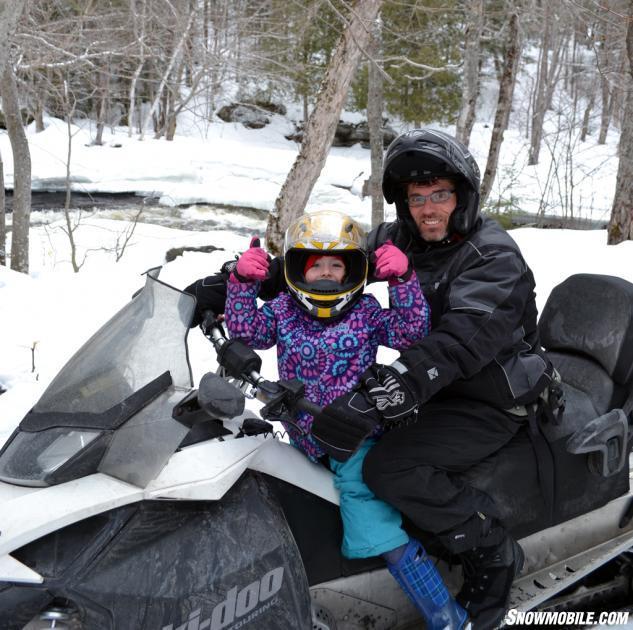 Maya Me Snowmobile River
