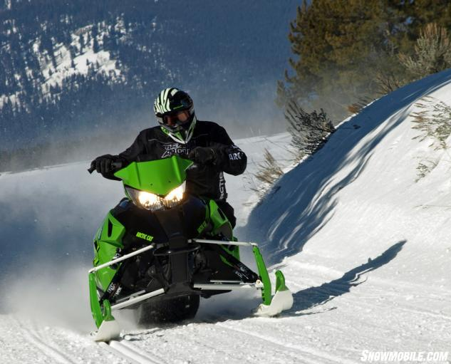 2016 Arctic Cat ZR 8000 RR Action Corner