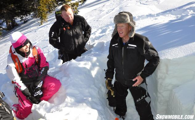Avalanche Safety Snow Composition