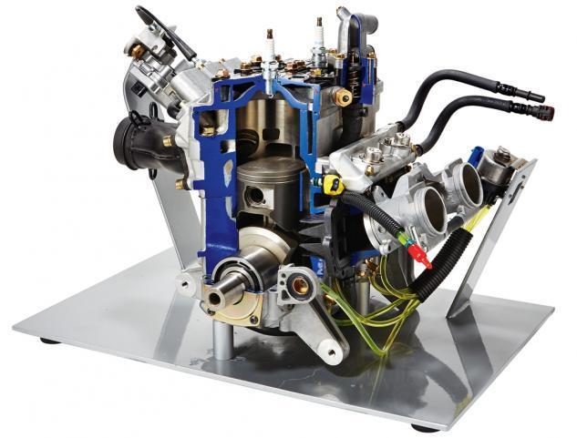 Polaris Cleanfire 800 H.O. Engine