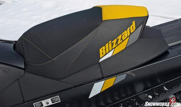 2016 Ski-Doo MXZ Blizzard 800 Seat