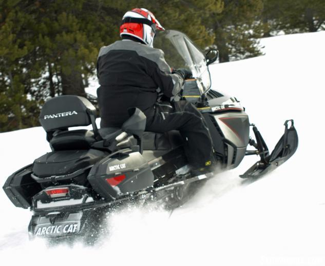 2016 Arctic Cat Pantera 7000 XT LTD Action Rear