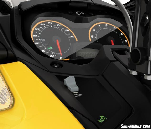 2016 Ski-Doo MXZ TNT 1200 4-TEC Modes Button