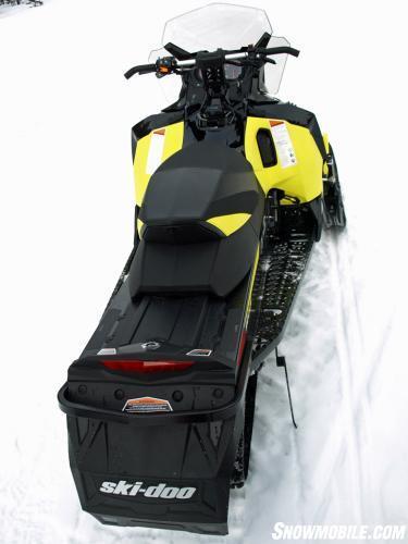 2016 Ski-Doo MXZ TNT 1200 4-TEC Rear
