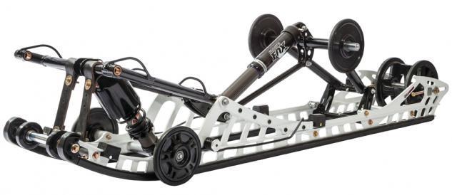 2016 Arctic Cat M8000 Limited Rear Skid
