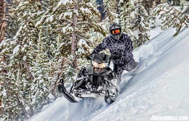 2016 Arctic Cat M8000 Limited Sidehill