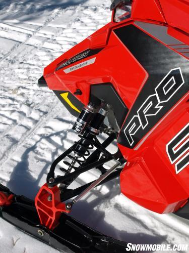 2016 Polaris 800 Switchback Pro-S Front Suspension