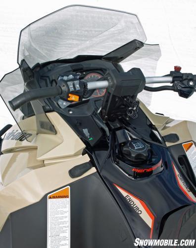 2016 Ski-Doo Enduro 1200 4-TEC Cockpit