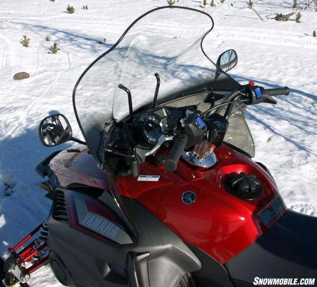 2016 Yamaha Venture TF LE Windscreen