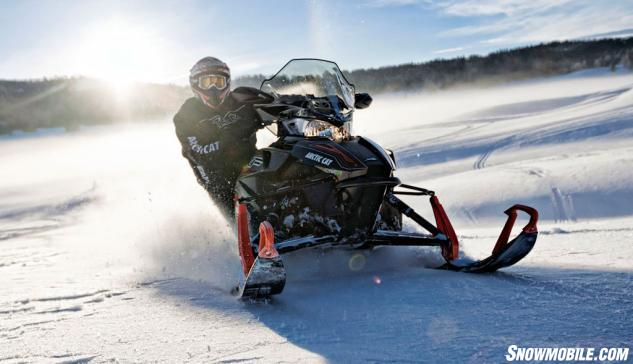 2016 Arctic Cat XF 6000 CrossTrek Action