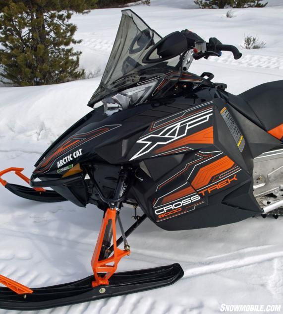 2016 Arctic Cat XF 6000 CrossTrek Front Left