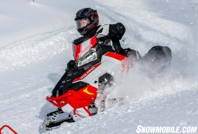 On trail comfort for Polaris riders comes from Thinsulate linings for warmth and Gore-Tex water-resistant exteriors.