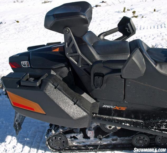 2016 Ski-Doo Grand Touring SE 1200 Storage Back Rest