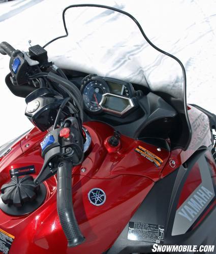 2016 Yamaha Vector X-TX 1.75 LE Cockpit