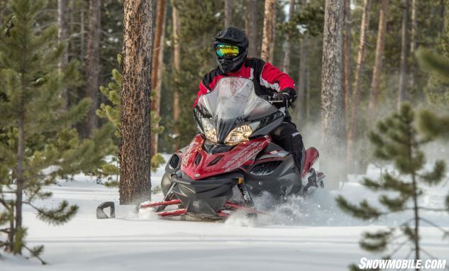 2016 Yamaha Vector X-TX 1.75 LE Off Trail
