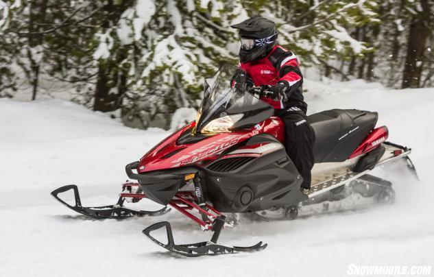 2016 Yamaha Vector X-TX 1.75 LE On Trail