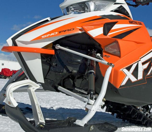 2016 Arctic Cat XF 8000 High Country Front Suspension