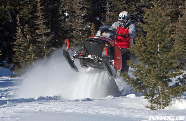 2016 Ski-Doo Summit SP T3 Action Front