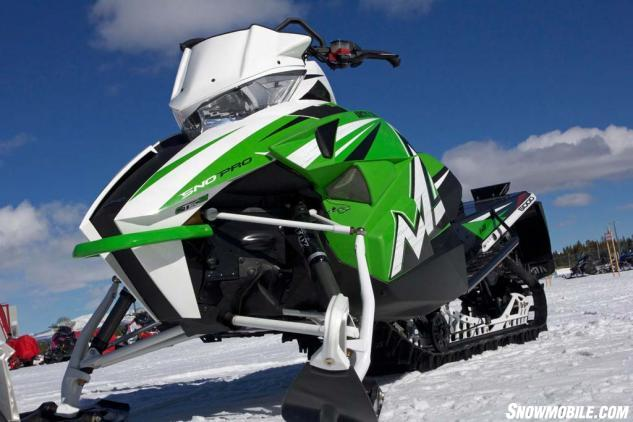 2016 Arctic Cat M8000 Sno Pro SE Green and White