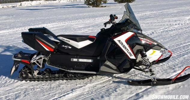 "Polaris created the ""adventure"" class of sleds in 2012 when it added luxury appointments to its off-trail Switchback series."