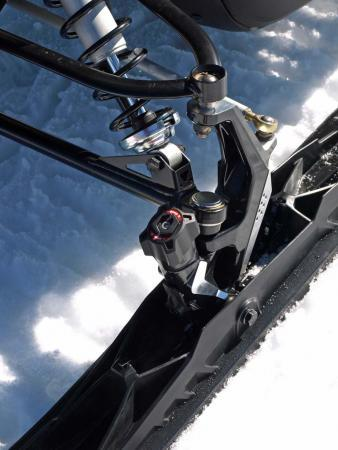 Ski-Doo includes its best technologies on the new Enduro, including the new Pilot TS adjustable ski.