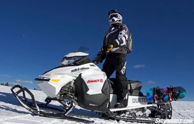 2016 Ski-Doo Summit Burton Beauty