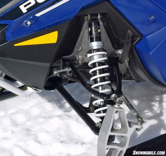 2016 Polaris 550 Indy Voyageur 144 Front Suspension